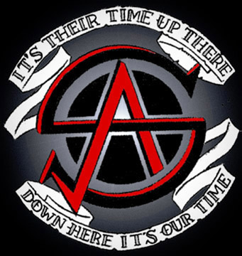 Action Squad crest / tattoo w Goonies quote